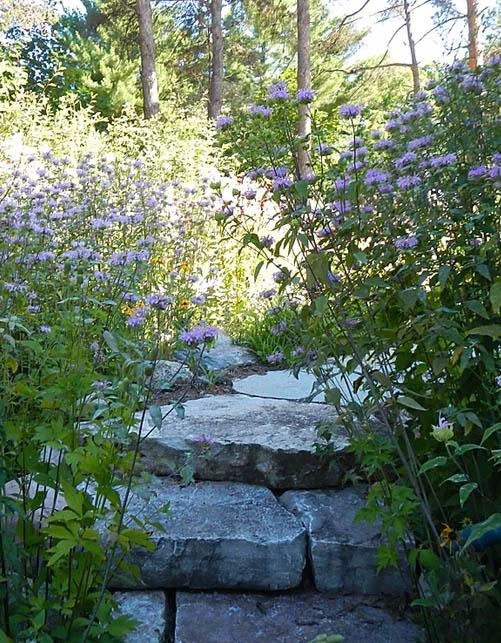 Landscaped Gardens Petoskey Michigan