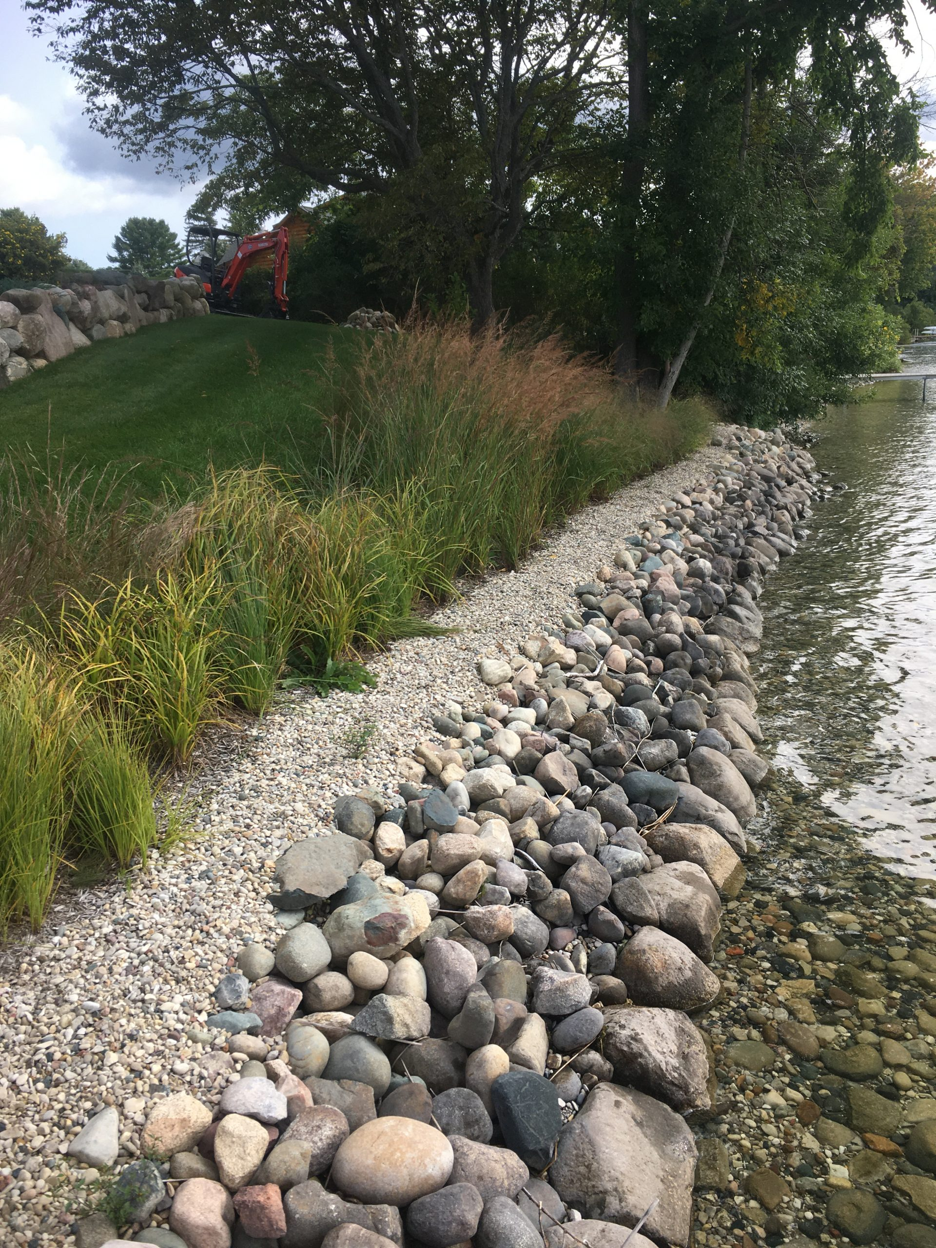 Shoreline protection and buffer garden